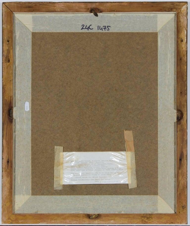 Anata Bowmens - 1901 Signed English Pastel Portrait of Maud Elizabeth Willis For Sale 2