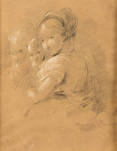 Sketch for a Holy Family