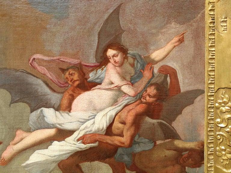 Giulio Carpioni - Orpheus and Eurydice - 17th Century - Oil on canvas For Sale 1