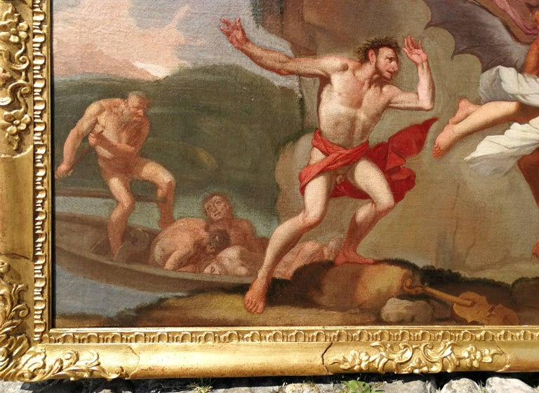 Giulio Carpioni - Orpheus and Eurydice - 17th Century - Oil on canvas For Sale 3