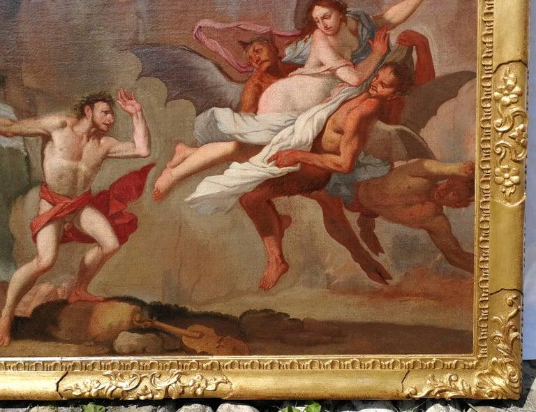 Giulio Carpioni - Orpheus and Eurydice - 17th Century - Oil on canvas For Sale 4
