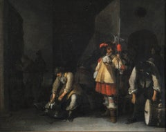 Anthoine Palamedes (1601 - 1673) - Park of soldiers during changing of the guard