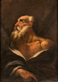 """Giovanni Antonio Pellegrini (Venice 1675 - 1741) - """"St. Andrew"""". 18th century."""