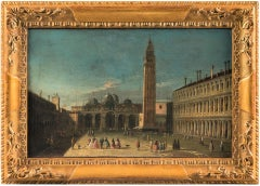 "Apollonio Domenichini (1715 - 1770) - ""View of St. Mark's Square in Venice"""