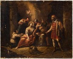 Gaspare Diziani (Belluno 1689 - Venice 1767) - Martyrdom of Saint Agatha - 18th