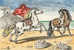 Cavalli sulla spiaggia (Chevaux sur la plage)