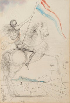 Salvador Dalí Drawings and Watercolor Paintings