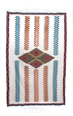 Sarape Epoca de Maximiliano / Textiles Mexican Folk Art Serape