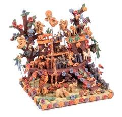 Arca de Noe / Ceramics Mexican Folk Art Miniature