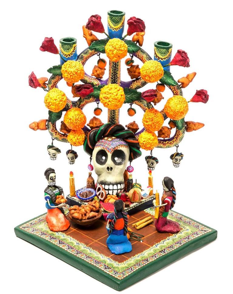 Ofrenda Policromada / Ceramics Mexican Folk Art Clay