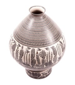 Olla Desierto / Ceramics Mexican Folk Art Mata Ortiz