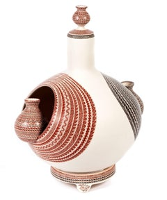 Vasija Los Gemelos / Ceramics Mexican Folk Art Mata Ortiz