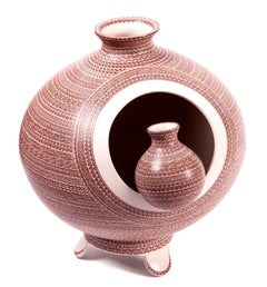 Vasija Fusion / Ceramics Mexican Folk Art Mata Ortiz