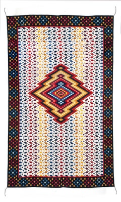 Diamante / Textiles Mexican Folk Art Rug