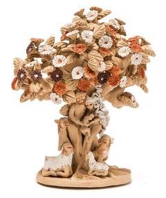 Arbol con Nacimiento / Ceramics Mexican Folk Art Clay Nativity