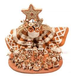 Las Fiestas del Cerro / Ceramics Mexican Folk Art Clay