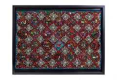 Costumbres / Textiles Mexican Folk Art Embroidery Frame