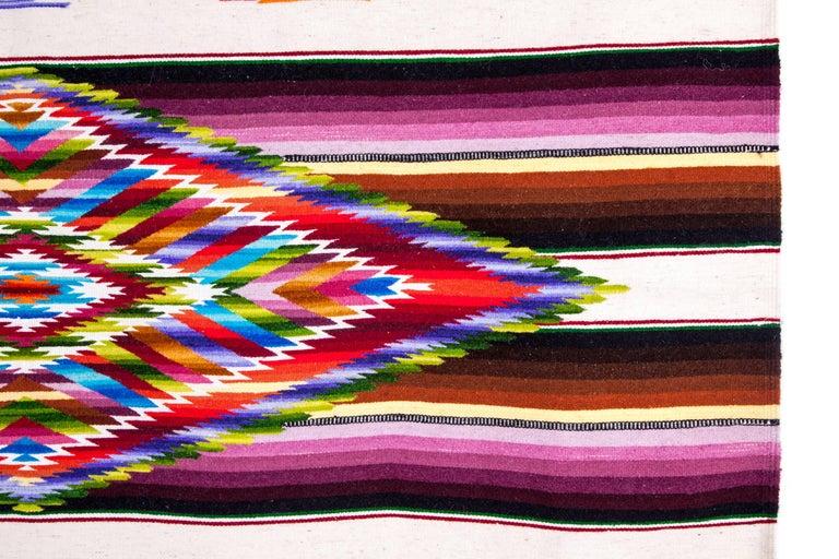 Sarape Ganador / Textiles Mexican Folk Art Serape For Sale 2