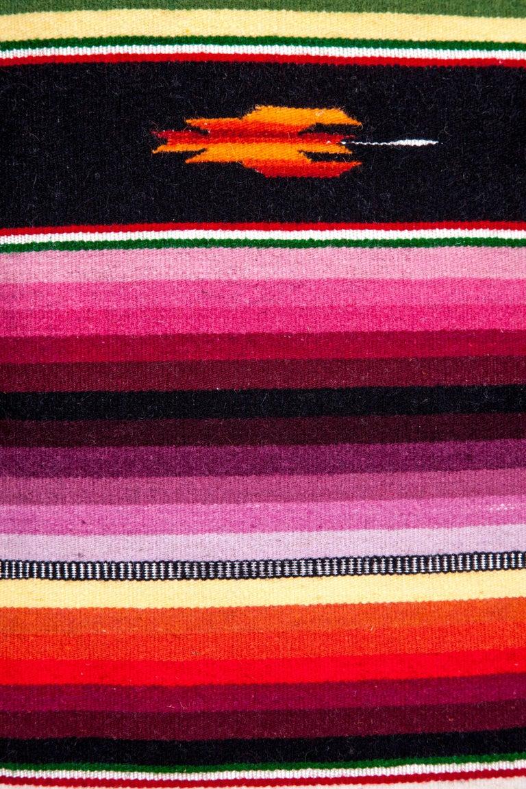 Sarape Ganador / Textiles Mexican Folk Art Serape For Sale 7