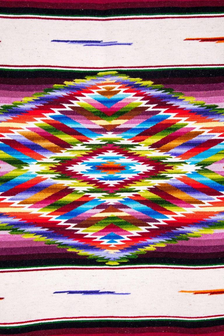 Sarape Ganador / Textiles Mexican Folk Art Serape For Sale 4