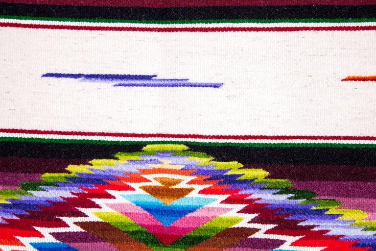 Sarape Ganador / Textiles Mexican Folk Art Serape For Sale 8