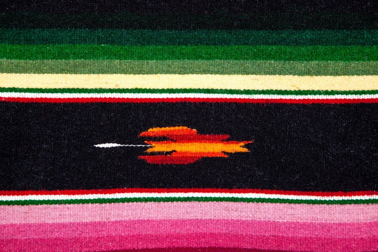 Sarape Ganador / Textiles Mexican Folk Art Serape For Sale 5