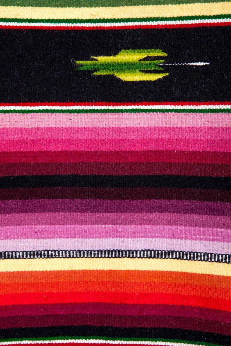 Sarape Ganador / Textiles Mexican Folk Art Serape For Sale 6