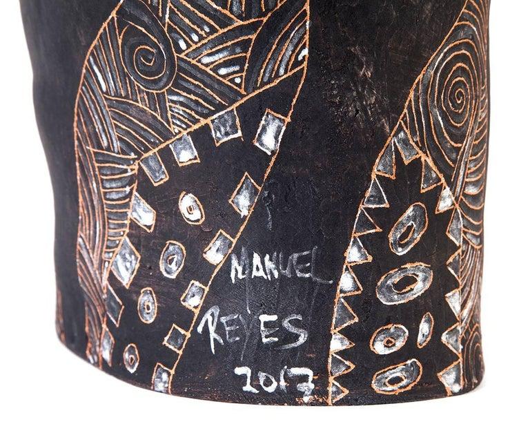 12'' La Mano de Yanhuitlan / Ceramics Mexican Folk Art Clay For Sale 3