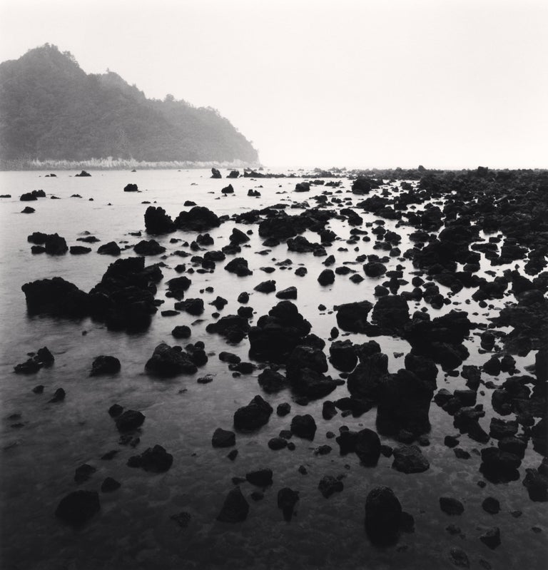 Black Beach Rocks, Supseom, Jeju Island, South Korea