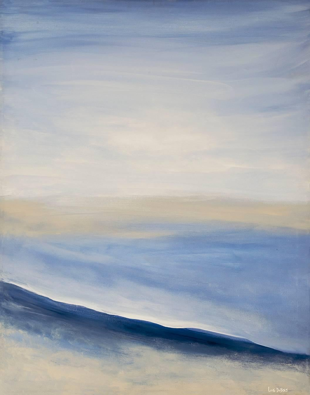 White Sands, Abstract Expressionism Acrylic Painting, Contemporary Art