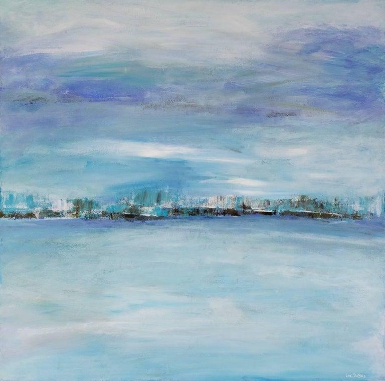Lori Dubois Abstract Painting - Frozen