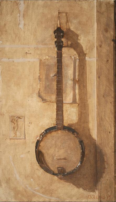 Study for Banjo with Drawing