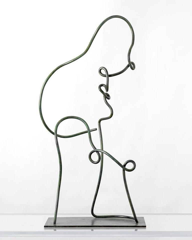 Jim Ritchie Abstract Sculpture - Portrait