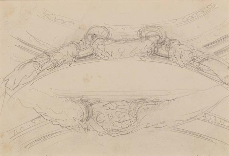 Garland Studies I - Art by John Singer Sargent