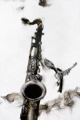 Smoky Saxophone
