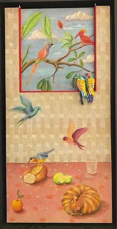 Birds in Window