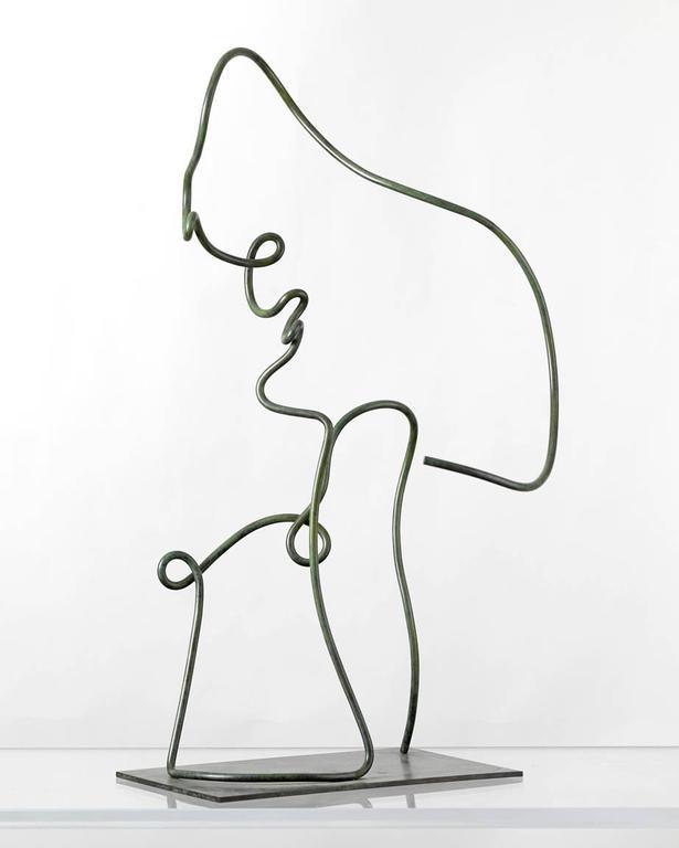 Portrait - Sculpture by Jim Ritchie
