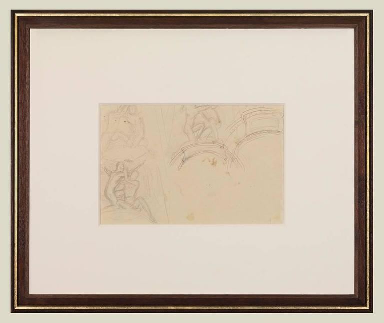 Garland Studies I - American Impressionist Art by John Singer Sargent