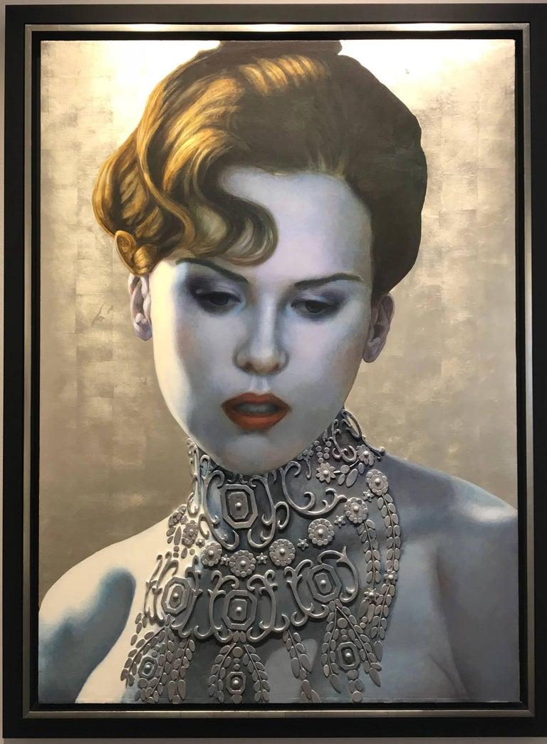 Clement Kamena Portrait Painting - Nicole K.