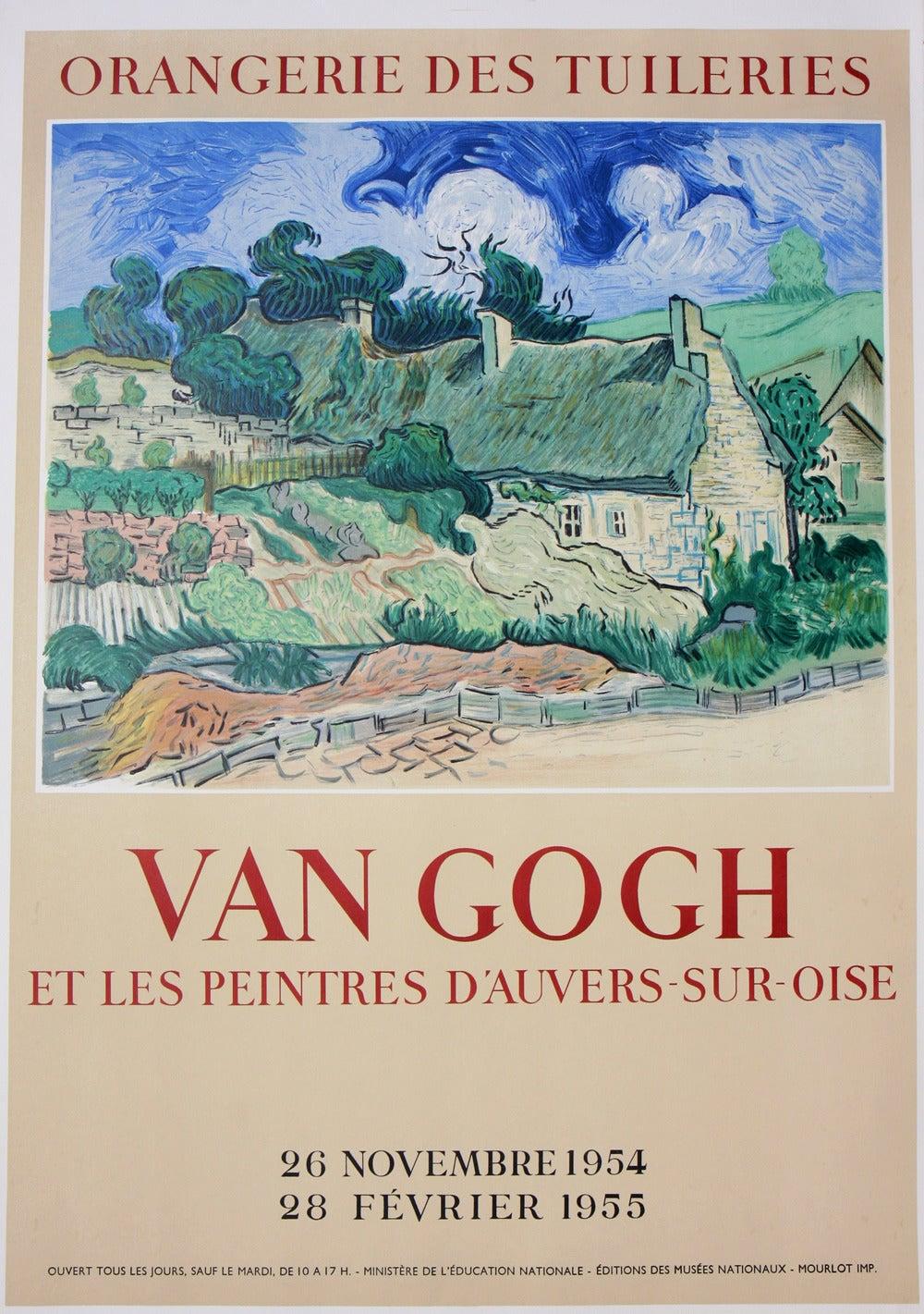Vincent van Gogh - Van Gogh Poster: Orangerie Des Tuileries, Print ...