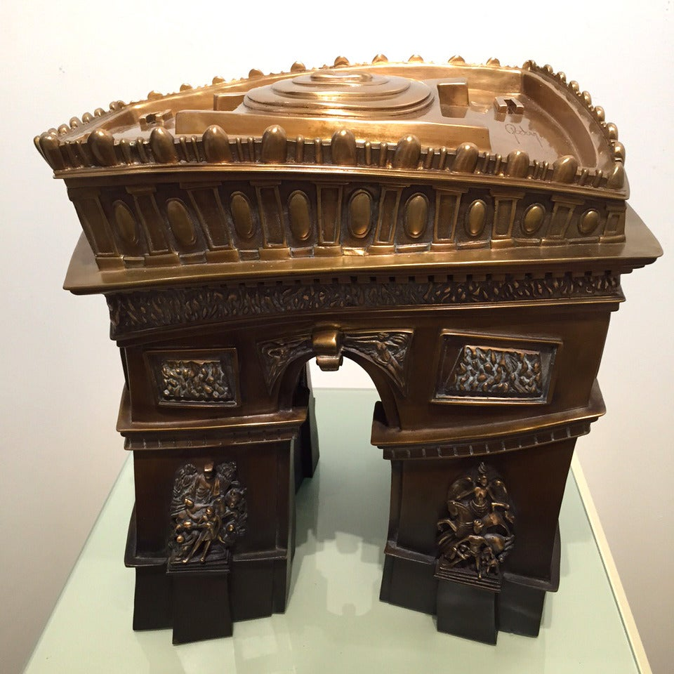 alain godon la porte de paris sculpture at 1stdibs. Black Bedroom Furniture Sets. Home Design Ideas