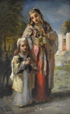 Orientale et sa fille