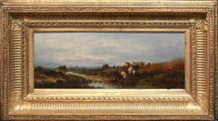 Barbizon landscape with cows