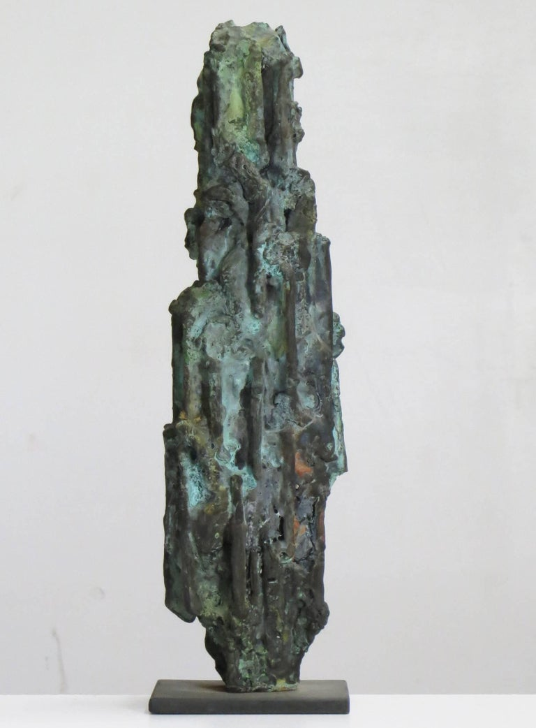 Old Man - Sculpture by Howard Kalish