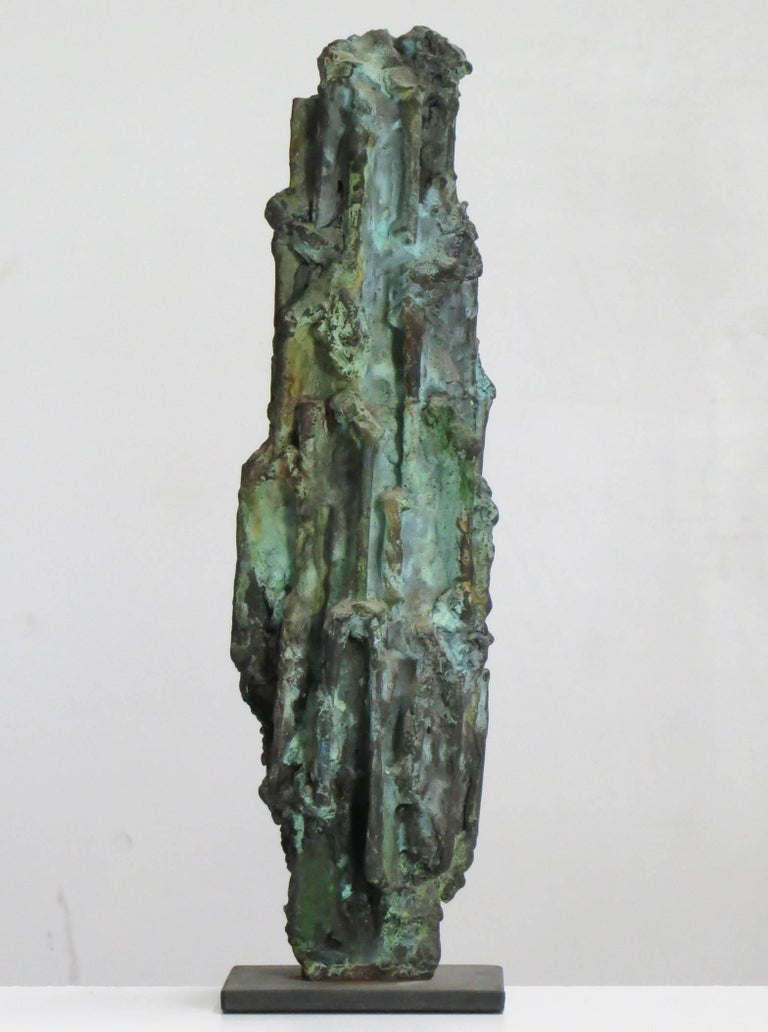 Old Man - Abstract Sculpture by Howard Kalish