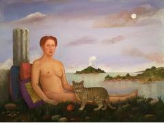 Goddess, Ruin and Cat