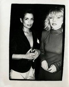 Bianca Jagger & Debbie Harry (Blondie)