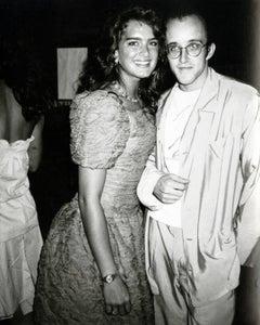 Brooke Shields & Keith Haring