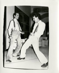 Fred Hughes Dancing with Unidentified Man