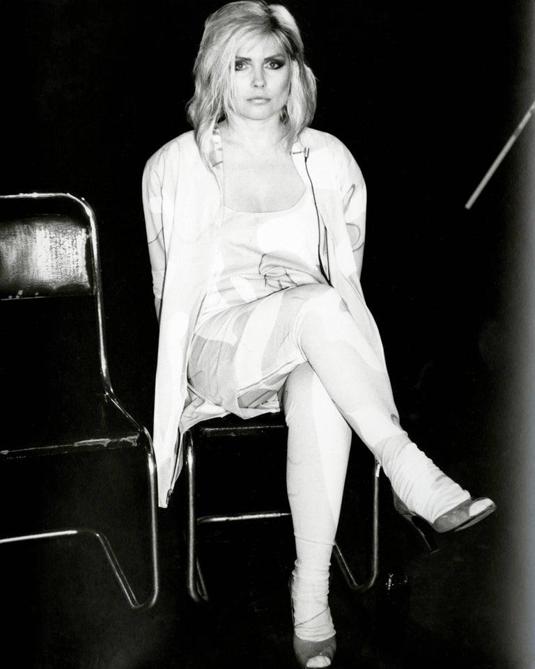 Andy Warhol, Photograph of Debbie Harry (Blondie), 1985